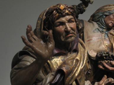 Juan de Juni. Detalle del Entierro de Cristo. Museo de Escultura de Valladolid.