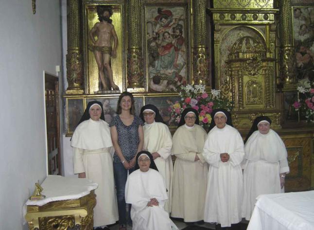 Regreso del Cristo de Ducete a su retablo en Santa Sofía de Toro (Zamora). Foto: la opinón de Zamora.