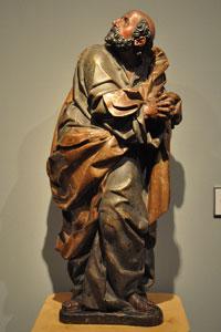 Sebastián Ducete. Lágrimas de San Pedro. Museo Frederic Marès (Barcelona) procedente de Santa Sofía de Toro (Zamora). Foto: wiki commnos