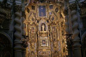 San Luis de los Franceses. Retablos. Foto: Wikicommons.