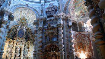 San Luis de los Franceses. Interior. Foto: Wikicommons.