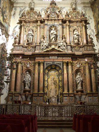 Capilla de la Antigua de la Catedral de Sevilla. Foto: Wikicommons.