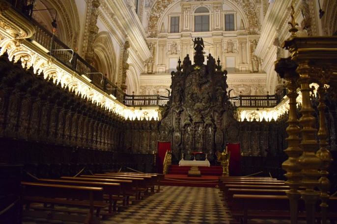 Pedro Duque Cornejo. Coro de la Catedral de Córdoba.
