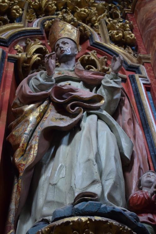 Pedro Duque Cornejo. San . Capilla del Rosario o antecámara del Sagrario de la Cartuja de El Paular. Madrid.
