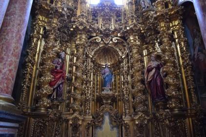 Retablo de la Inmaculada. Capilla del Rosario de la Cartuja de El Paular. Madrid.