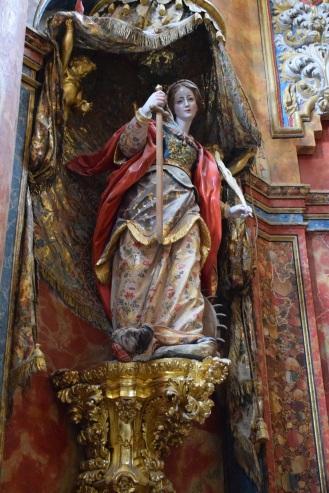 Pedro Duque Cornejo. Santa Catalina. Cartuja de El Paular. Madrid.