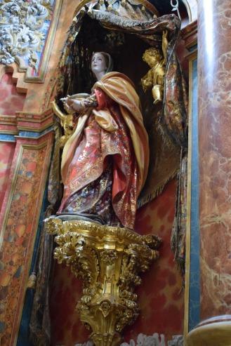Pedro Duque Cornejo. Santa Lucía. Cartuja de El Paular. Madrid.