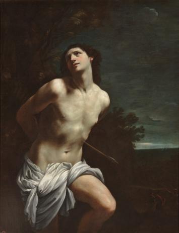 Guido Reni. San Sebastián 1617 - 1619. Óleo sobre lienzo, 170 x 133 cm. Museo del Prado.