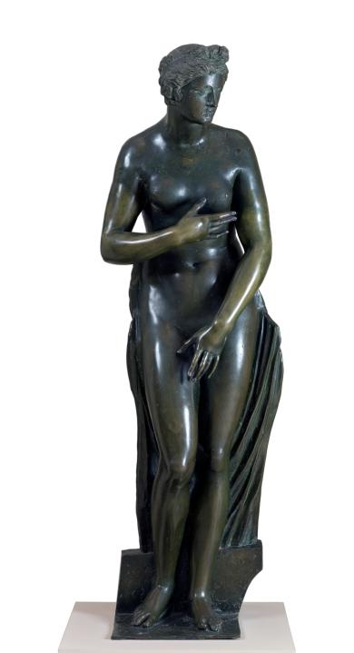 Baccio Bandinelli. Venus. 1530 - 1534. Bronce, 179 x 58 cm. Museo del Prado