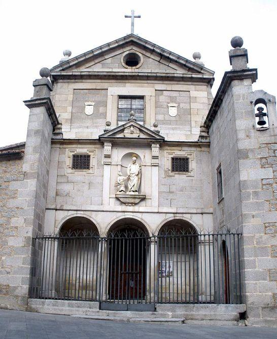 Francisco de Mora. Fachada del convento de San José de Ávila. Foto: wikipedia.