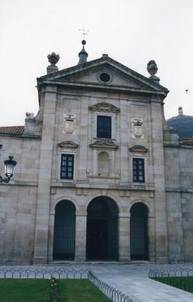 Alonso Carbonel. Detalle de la fachada del monasterio de agustinas recoletas de Loeches.