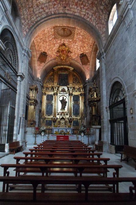 Francisco de Mora. Interior de la iglesia del convento de San José de Ávila. foto: wikipedia.