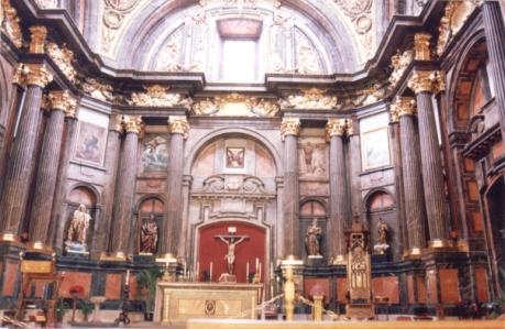 capilla de san isidro en san andres. detalle del estado actu