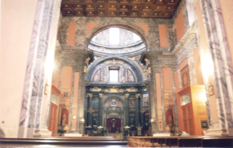 capilla de san Isidro en san andres. estado actual