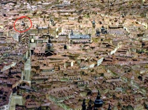 Maqueta de León Gil de Palacio. Museo de Historia de Madrid. Foto: viendo Madrid.