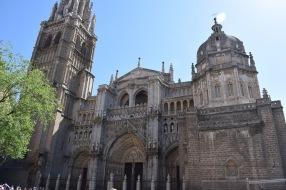 Fachada de la Catedral de Toledo. foto: cipripedia.