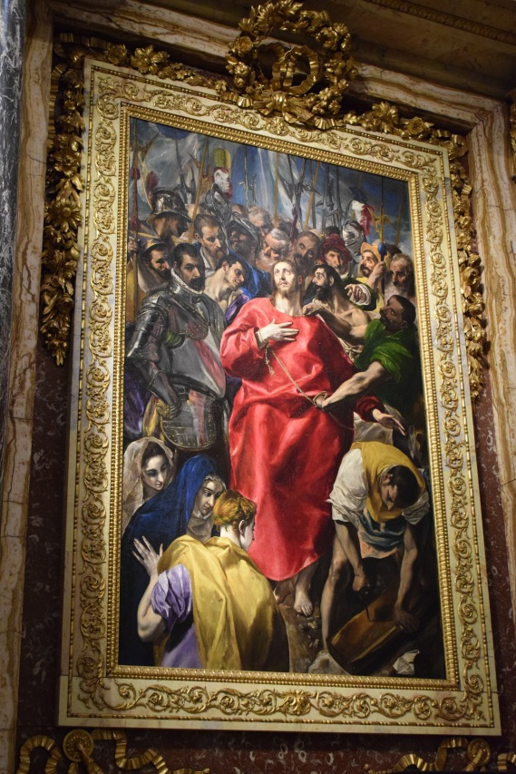 El Greco. El expolio. Sacristía de la Catedral de Toledo. foto: cipripedia.