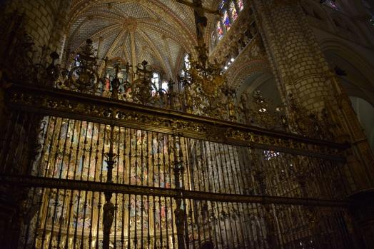 Francisco de Villalpando. Reja del altar mayor de la Catedral de Toledo. foto: cipripedia.