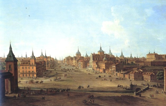 Antonio Joli. Vista de la Calle de Alcalá. foto: wikipedia.