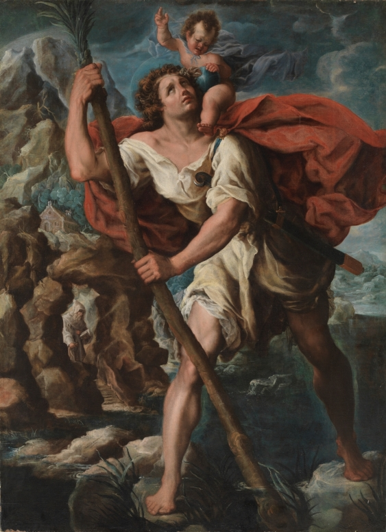 Orazio Borbianni. San Cristóbal. Museo del Prado.