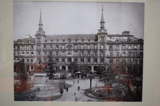 Anónimo. Plaza Mayor, h. 1930. Museo de Historia de Madrid. In 8.920