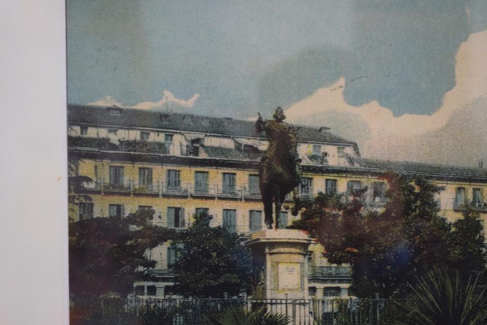 Detalle de Felipe III en la anterior fotografía