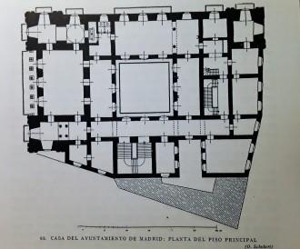 Planta del Piso Principal de la Casa de la Villa. Otto Schubert.