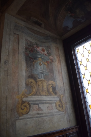 Antonio Palomino. Detalle de la decoraciión del Oratorio de la Casa de la Villa. Foto: @cipripedia