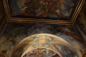 Antonio Palomino. Detalle del Oratorio Casa de la Villa. Foto: @cipripedia