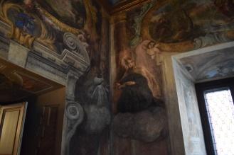 Antonio Palomino. Detalle Oratorio Casa de la Villa. Foto: @cipripedia