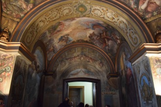 Antonio Palomino. Oratorio de la Casa de la Villa. Foto: @cipripedia