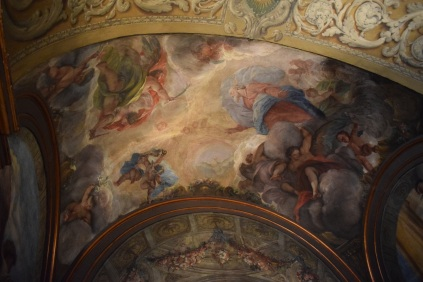 Antonio Palomino. Detalle del Oratorio casa de la Villa.Foto: @cipripedia