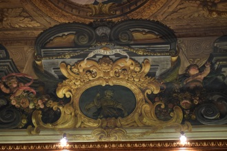 Antonio Palomino. Decoración del techo del salón de plenos. Foto: @cipripedia