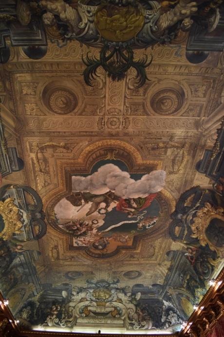 Antonio Palomino. Techo del Salón de plenos. 1692. Foto: @cipripedia