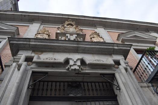 Teodoro Ardemnas. Casa de la Villa. Detalle de las portadas graníticas. Foto: @cipripedia