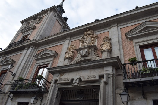 Casa de la Villa. Detalle de la portada de acceso a la cárcel. Foto: @cipripedia