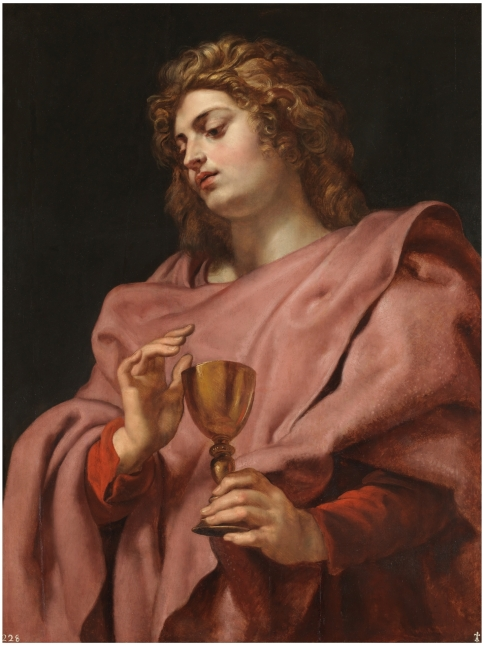 Rubens. San Juan evangelista. Museo del Prado.