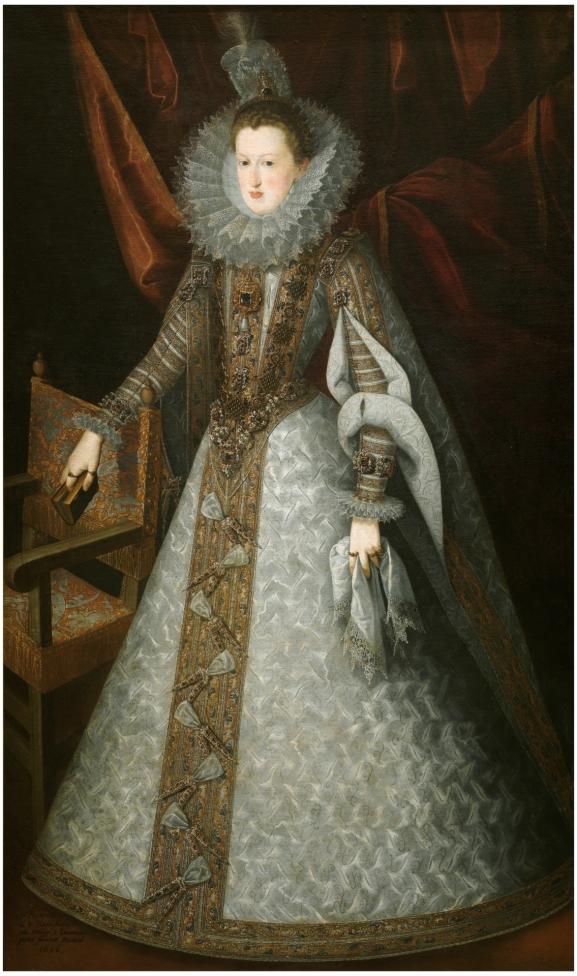 Juan Pantonja de la Cruz. Margarita de Austria. Museo del Prado.
