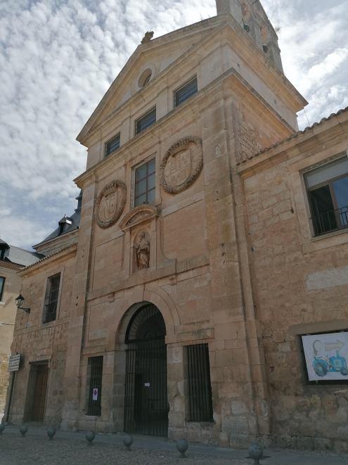 Fachada convento de San Blas. Lerma (Burgos). Foto: cipripedia