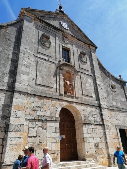 Fachada del Convento de Carmelitas o Santa Teresa. Lerma (Burgos) foto: cipripedia