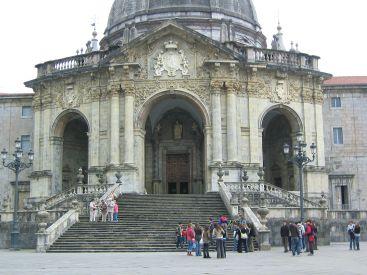 Santuario de Loyola. Fachada de la Basílica. Foto: wikipedia.